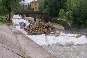 rafting sur radeau - Munich - Anne Pélouas