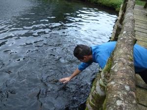 Un chef à la pêche