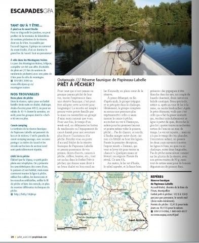 Le Québec, une réserve faunique à la fois - Anne Pélouas