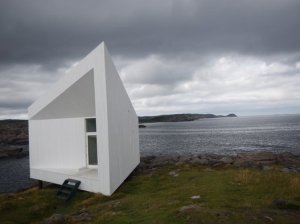 Le site du Fogo Island Inn.